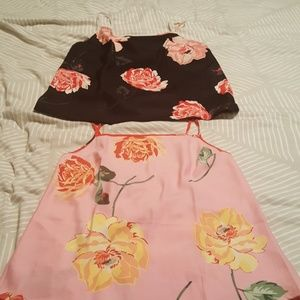 Victoria secret beautiful tops/sleep  size L